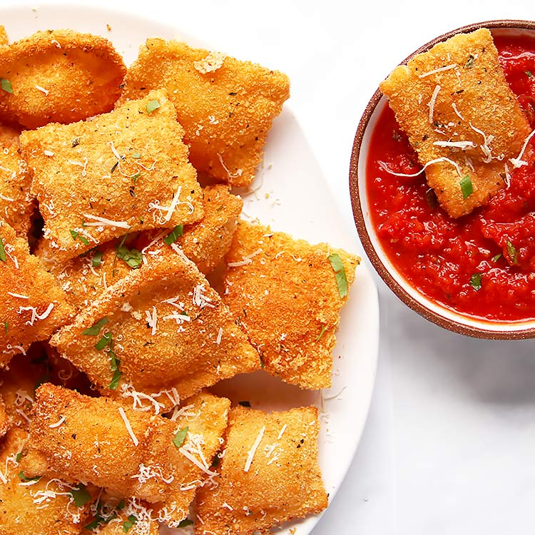 Superbowl Snack: Toasted Ravioli