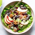 Cremiger Waldorfsalat aus den USA