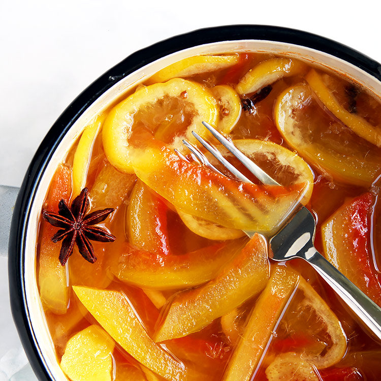 Rezept Wassermelonen Pickles aus Schalen