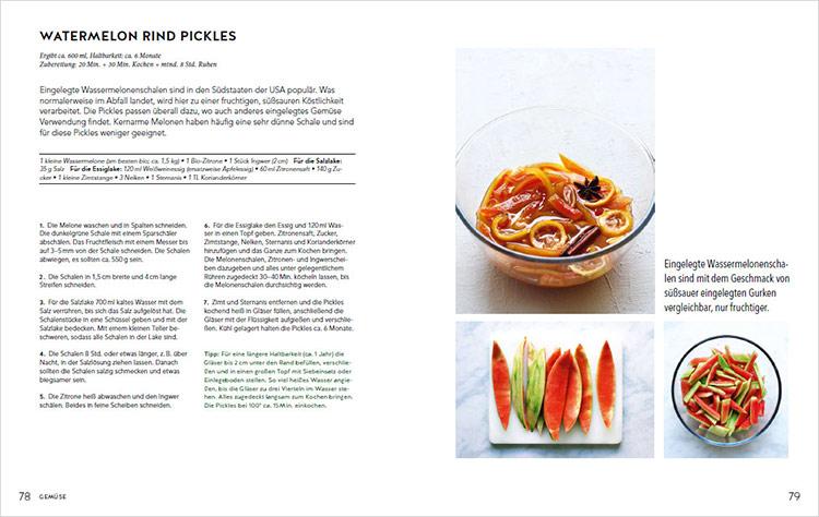 Rezept Watermelon Pickles Welt im Einmachglas