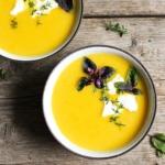 Cremige Gemüsesuppe (3 Zutaten)