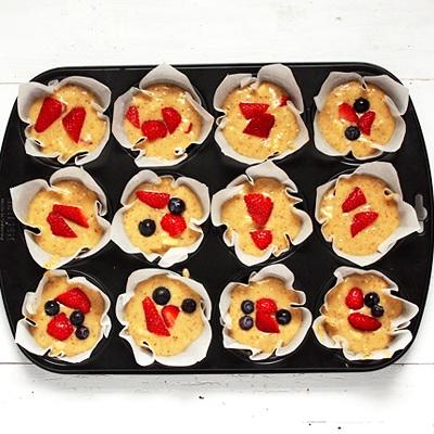 Einfache Frucht-Muffins aka Breakfast Muffins