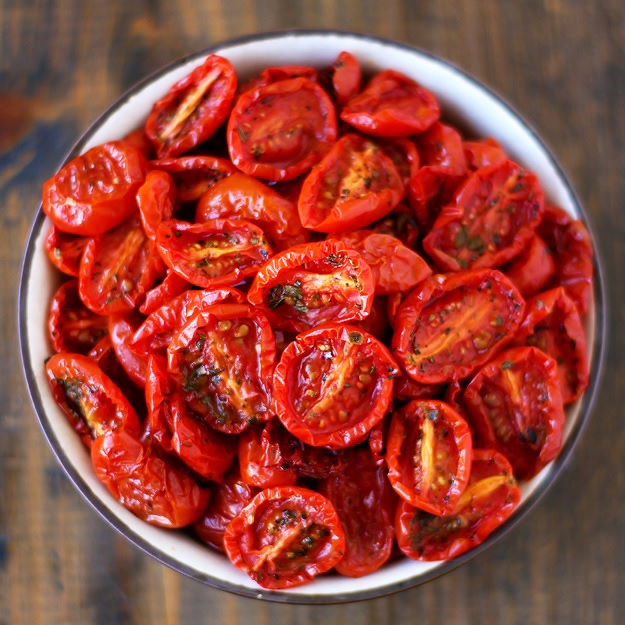 Pomodori semi secchi halbgetrocknete tomaten taste of travel - Make sun dried tomatoes explosion flavor ...