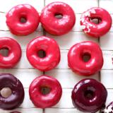 Rezept pink glasierte Donuts