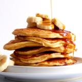 Rezept zuckerfreie Banana Pancakes