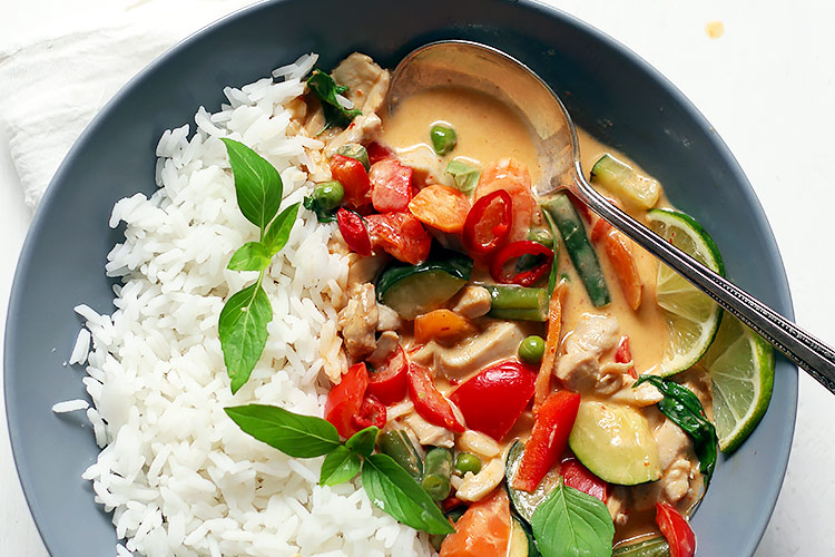 Rotes Thai Curry Rezept