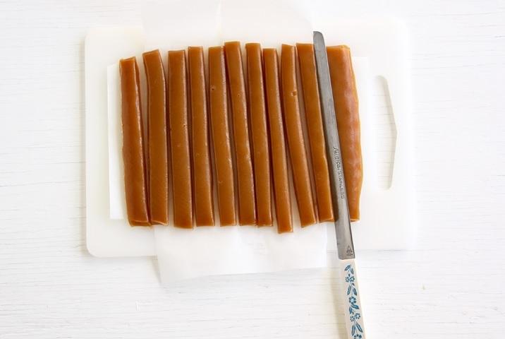 Süßmost Karamellen