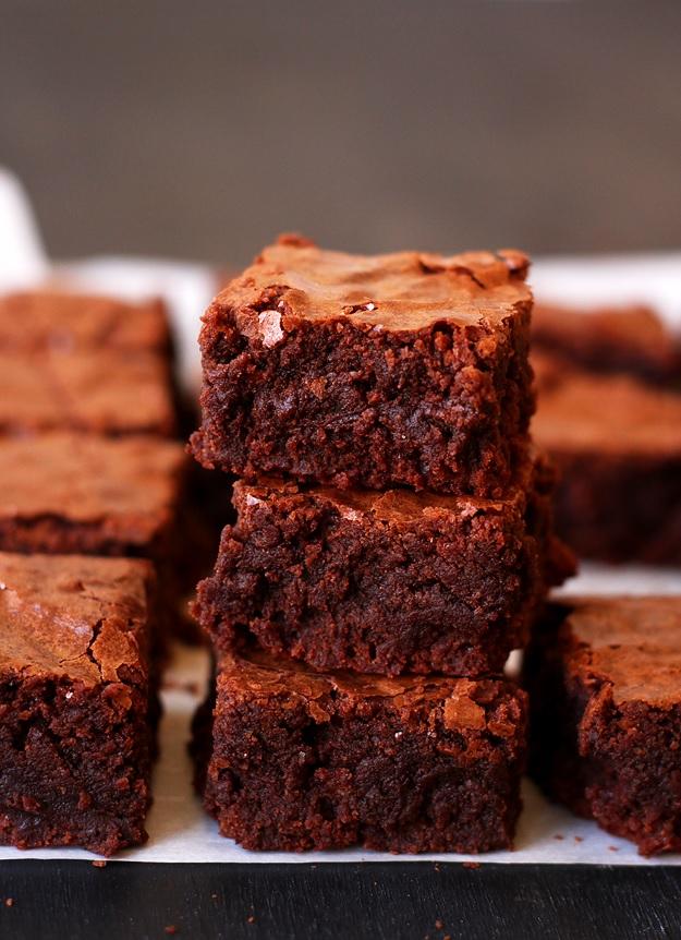 Saftige Brownies Knackige Kruste Rezept