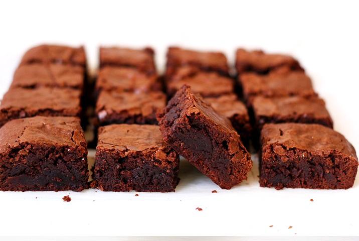 Saftige Brownies Rezept aus USA