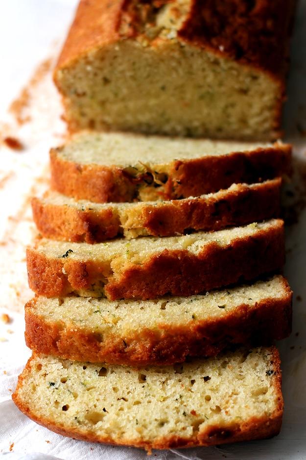Saftiges Zucchini Bread Zucchinikuchen Rezept