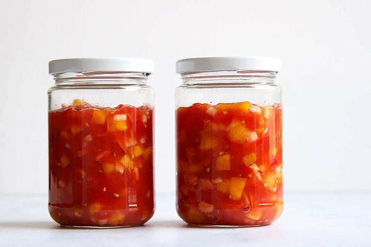 Salsa fermentieren Rezept haltbar