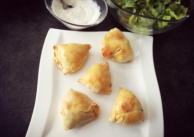 Rezept Indische Samosas von Sandra nach einem Rezept von Tasteoftravel.at gekocht