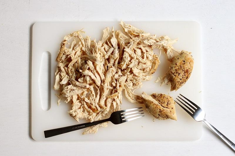 Schnelles Rezept für Pulled Chicken