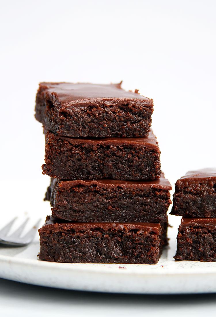 Schoko Mohn Brownies Rezept