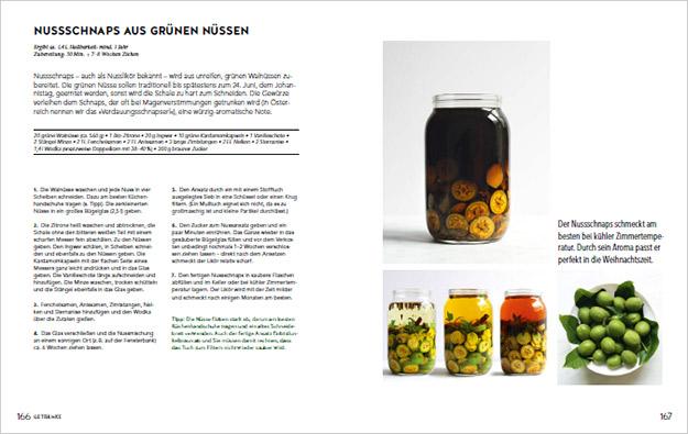 Screenshot aus Kochbuch Rezept Nussschnaps