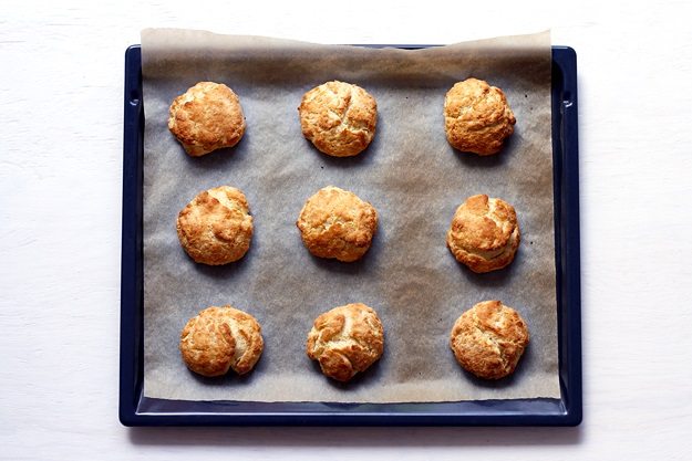 Shortcakes Teig Drop Biscuit Rezept