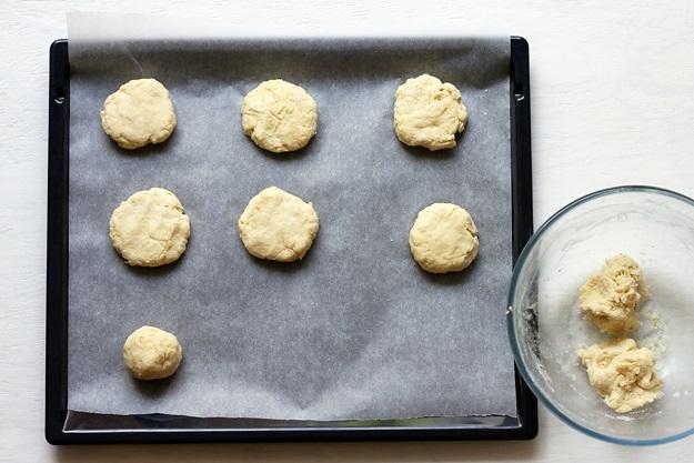 Shortcakes Teig formen Rezept