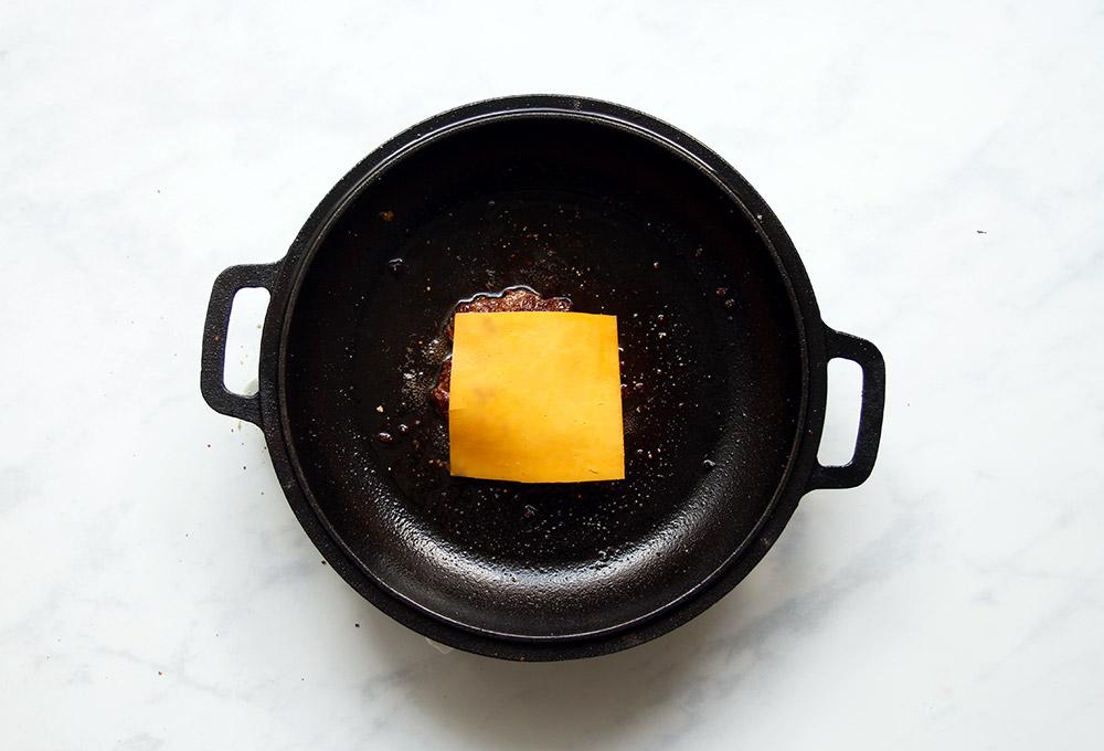 Smashed Cheeseburger Rezept