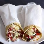Steak-Burritos mit Bohnen und Reis