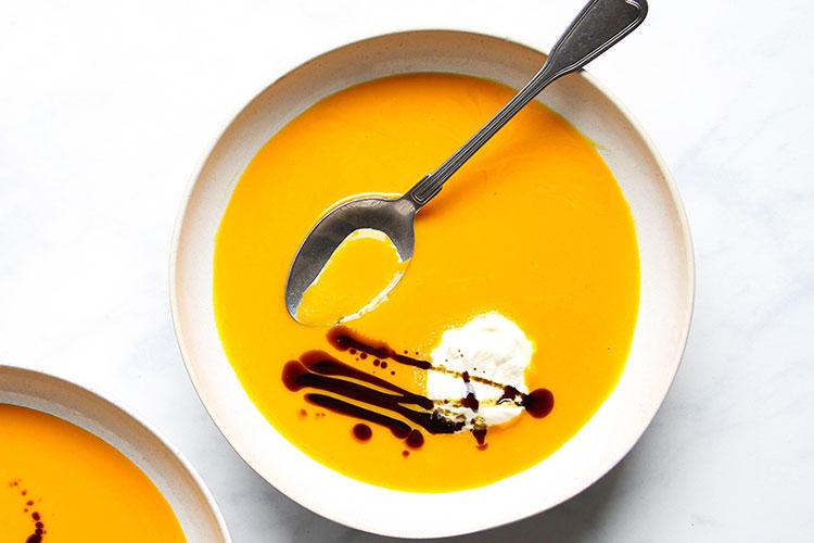 Steirische Kürbissuppe Rezept