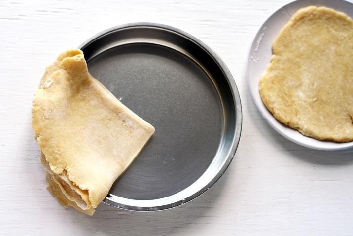 Teig Crust für Apple Pie