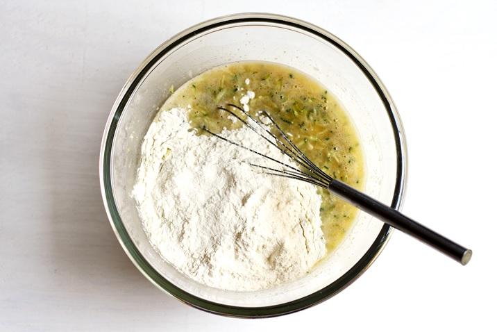 Teig für Zucchini Bread Rezept