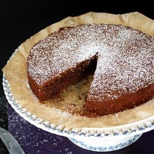Torta Caprese – Schokoladenkuchen ohne Mehl