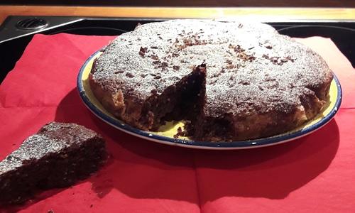 Torta Caprese von Userin nachgekocht