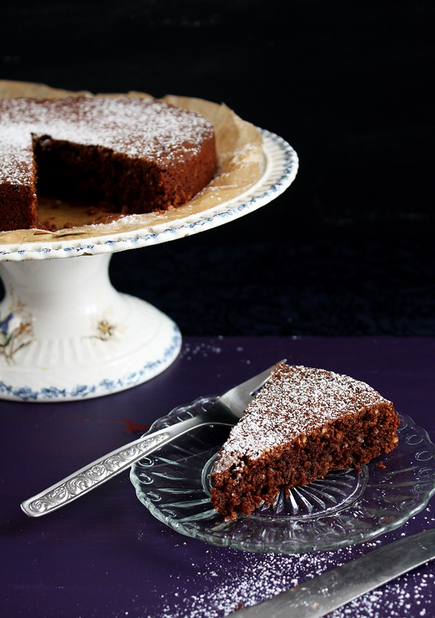 Torta Caprese - Schokoladentorte ohne Mehl