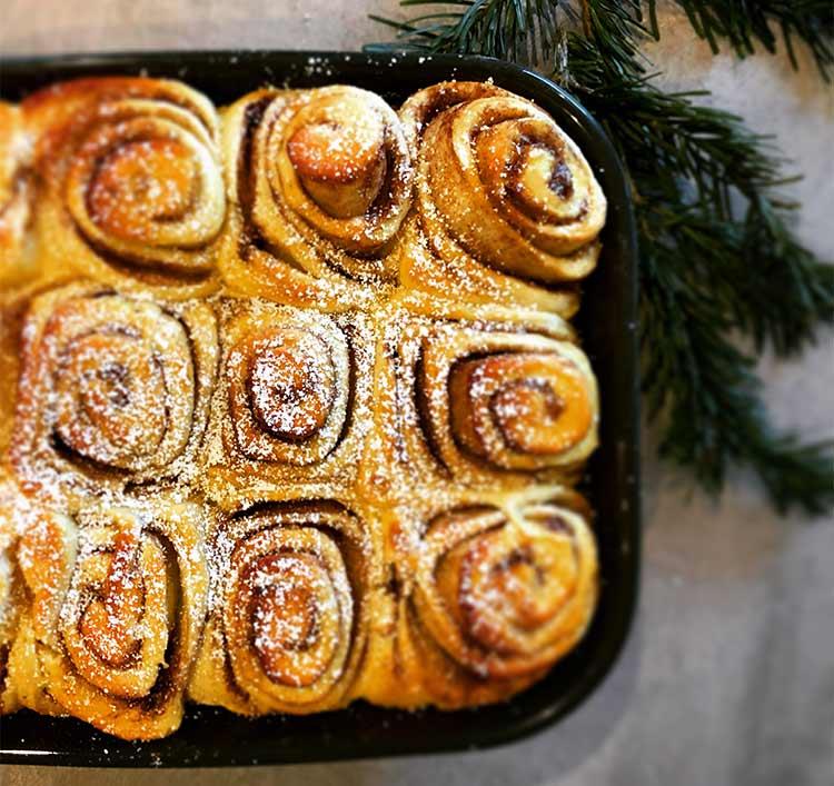 Userbild amerikanische Cinnamon Rolls Rezept von Taste of Travel