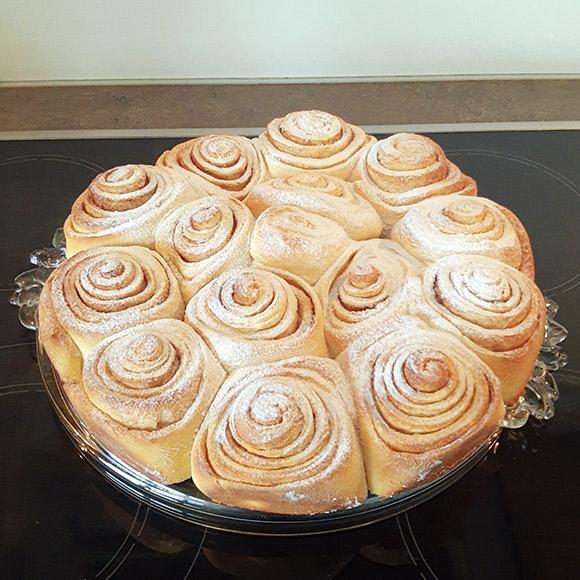 Luftige Cinnamon Rolls Userbild. Rezept von Tasteoftravel.at