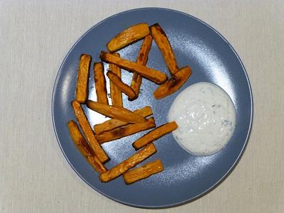 Kumara Fries von Userin nachgekocht