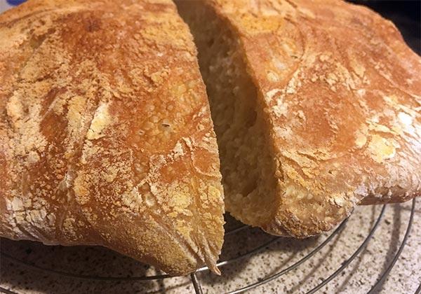 No-knead Brot von Userin nachgekocht