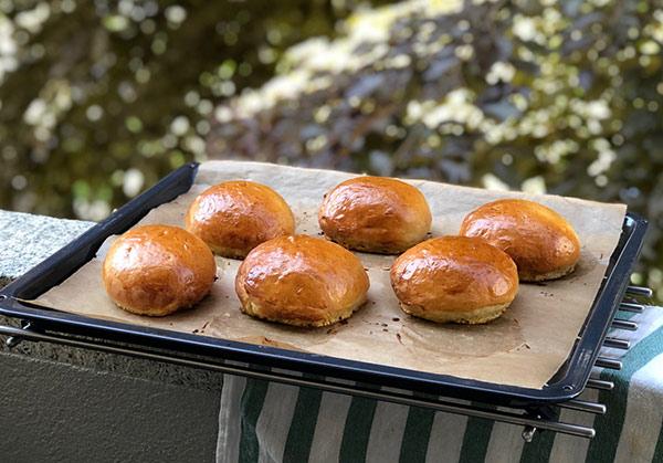 Weiche Burger Buns Rezept von TasteofTravel.at