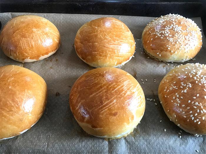 Weiche Hamburger Buns Rezept von TasteofTravel.at