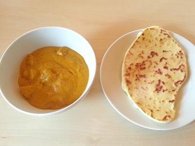 Aloo Masala und Naan von User nachgekocht