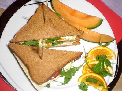 Avocado Club-Sandwich von Userin nachgekocht
