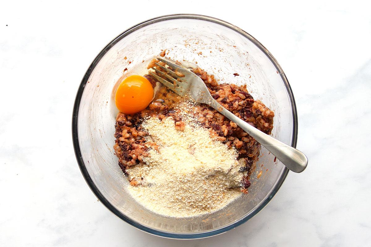 Vegetarische Burgerpatties aus Kidneybohnen Rezept