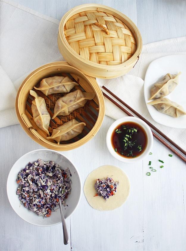Vegetarische Dumplings - Jiaozi