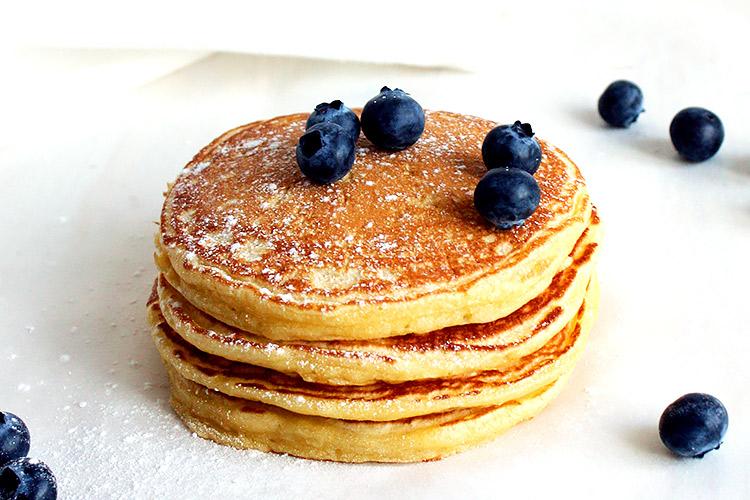 Weiche Buttermilk Pancakes Rezept