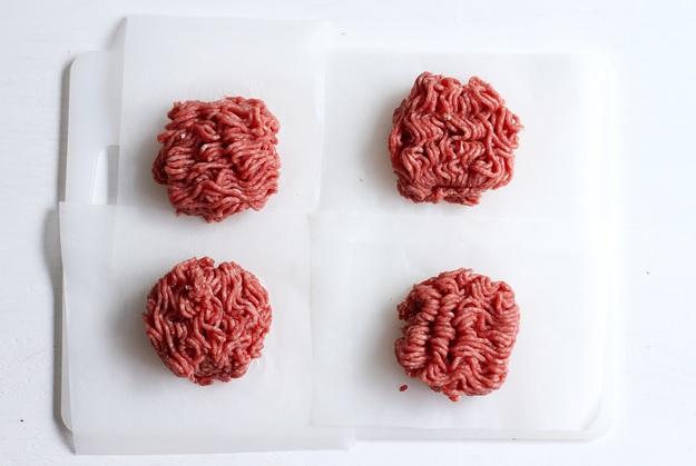 Rezept: Wie formt man ein Burger Patty?