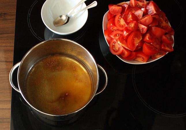 Zubereitung selbstgemachtes Ketchup