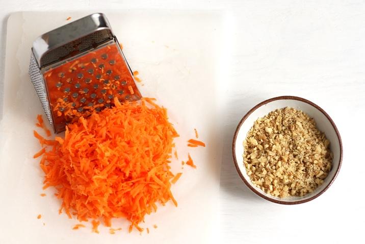 Zutaten für Karottenkuchen Rezept