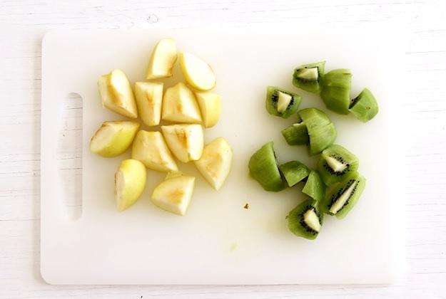 Zutaten für Grünen Smoothie Rezept